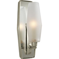 Visual Comfort Barbara Barry Lighten Up 1 Light Bath Wall Light in Pewter Finish BBL2034PWT-FG