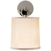 Visual Comfort Barbara Barry French Cuff 1 Light Decorative Wall Light in Polished Nickel BBL2035PN-S
