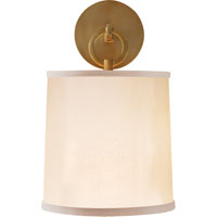 Visual Comfort Barbara Barry French Cuff 1 Light Decorative Wall Light in Soft Brass BBL2035SB-S