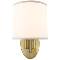 Barbara Barry Graceful Ribbon 1 Light 7 inch Soft Brass Decorative Wall Light