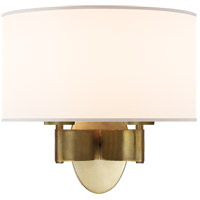 Barbara Barry Graceful Ribbon 2 Light 13 inch Soft Brass Decorative Wall Light