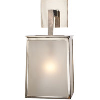 Visual Comfort Barbara Barry Ojai 1 Light Decorative Wall Light in Polished Nickel BBL2072PN-FG