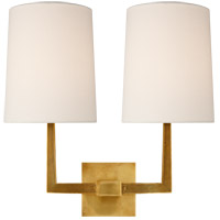 Visual Comfort BBL2084SB-L Barbara Barry Ojai 2 Light 17 inch Soft Brass Double Arm Sconce Wall Light, Large photo thumbnail