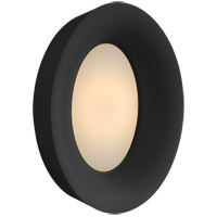 Visual Comfort BBL2092BLK Barbara Barry Halo LED 11 inch Matte Black Wall Sconce Wall Light, Medium Oval