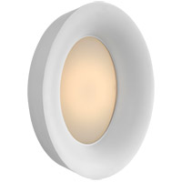 Visual Comfort BBL2092WHT Barbara Barry Halo LED 11 inch White Wall Sconce Wall Light, Medium Oval