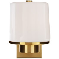 Barbara Barry Glass 1 Light 6 inch Soft Brass Bath Wall Light