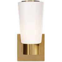 Visual Comfort BBL2105SB-WG Barbara Barry Acme 1 Light 4 inch Soft Brass Decorative Wall Light photo thumbnail