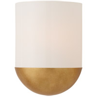 Visual Comfort BBL2155G-WG Barbara Barry Crescent LED 8 inch Gild Sconce Wall Light, Small