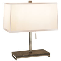 Barbara Barry Philosophy 18 inch 60 watt Pewter Finish Decorative Table Lamp Portable Light