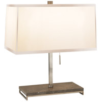 Visual Comfort BBL3030PWT-S Barbara Barry Philosophy 18 inch 60 watt Pewter Finish Decorative Table Lamp Portable Light
