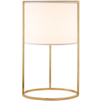 Visual Comfort BBL3110SB-S Barbara Barry Framework 18 inch 75 watt Soft Brass Table Lamp Portable Light