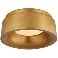 Visual Comfort BBL4090G Barbara Barry Halo LED 6 inch Gild Flush Mount Ceiling Light, Petite