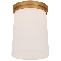 Visual Comfort BBL4093G-WG Barbara Barry Halo LED 5 inch Gild Solitaire Flush Mount Ceiling Light Tall