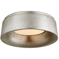Visual Comfort BBL4094BSL Barbara Barry Halo 1 Light 11 inch Burnished Silver Leaf Flush Mount Ceiling Light