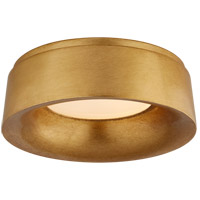 Visual Comfort BBL4094G Barbara Barry Halo 1 Light 11 inch Gild Flush Mount Ceiling Light
