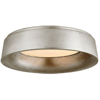 Visual Comfort BBL4096BSL Barbara Barry Halo 1 Light 18 inch Burnished Silver Leaf Flush Mount Ceiling Light