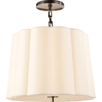 Visual Comfort BBL5015BZ-S Barbara Barry Simple 5 Light 25 inch Bronze Hanging Shade Ceiling Light