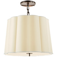 Barbara Barry Simple 5 Light 25 inch Bronze Hanging Shade Ceiling Light