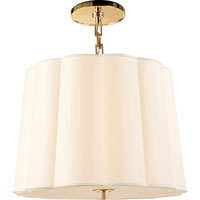 Visual Comfort Barbara Barry Simple 5 Light Hanging Shade in Soft Brass BBL5015SB-S