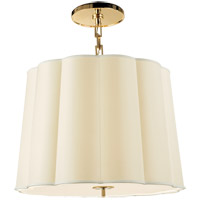 Visual Comfort BBL5015SB-S Barbara Barry Simple 5 Light 25 inch Soft Brass Hanging Shade Ceiling Light
