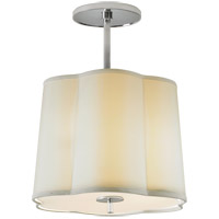 Visual Comfort BBL5016SS-S Barbara Barry Simple 3 Light 16 inch Soft Silver Hanging Shade Ceiling Light photo thumbnail