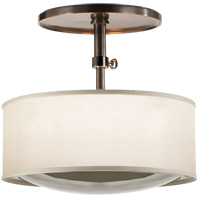 Barbara Barry Reflection 2 Light 15 inch Bronze Hanging Shade Ceiling Light
