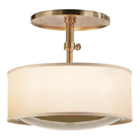 Visual Comfort Barbara Barry Reflection 2 Light Hanging Shade in Soft Brass BBL5024SB-S