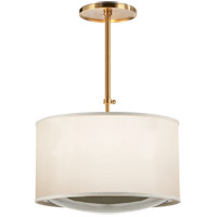 Visual Comfort BBL5025SB-S Barbara Barry Reflection 4 Light 24 inch Soft Brass Hanging Shade Ceiling Light
