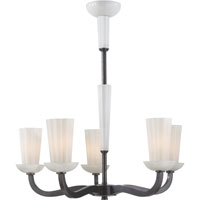 Visual Comfort Barbara Barry All Aglow 6 Light Chandelier in Bronze with Wax BBL5026BZ-WG