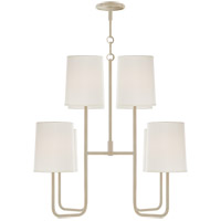 Barbara Barry Go Lightly 8 Light 31 inch China White Chandelier Ceiling Light