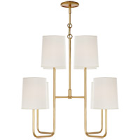 Barbara Barry Go Lightly 8 Light 31 inch Gild Chandelier Ceiling Light