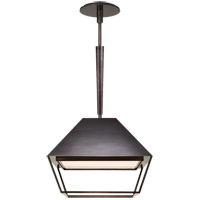 Visual Comfort BBL5101BZ-FA Barbara Barry Odeum 2 Light 14 inch Bronze Hanging Lantern Ceiling Light, Small