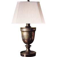 Visual Comfort E.F. Chapman Classical 1 Light Decorative Table Lamp in Sheffield Nickel CHA8162SN-S