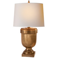 Visual Comfort CHA8174AB-NP E. F. Chapman Chunky 38 inch 150 watt Antique-Burnished Brass Decorative Table Lamp Portable Light