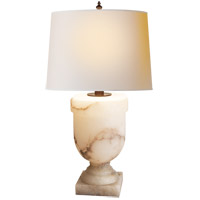 Visual Comfort CHA8174ALB-NP E. F. Chapman Chunky 38 inch 100 watt Alabaster Natural Stone Decorative Table Lamp Portable Light