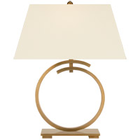 Visual Comfort CHA8401AB-PL E. F. Chapman Launceton 29 inch 100 watt Antique-Burnished Brass Table Lamp Portable Light Large Ring