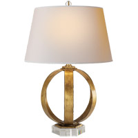 Visual Comfort CHA8530GI-NP E. F. Chapman Metal Banded 29 inch 150 watt Gilded Iron Decorative Table Lamp Portable Light