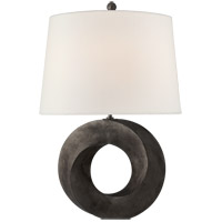 Visual Comfort CHA8532AI-L Chapman & Myers Mobius 28 inch 100 watt Aged Iron Table Lamp Portable Light Medium