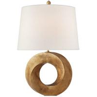 Visual Comfort CHA8532GI-L Chapman & Myers Mobius 28 inch 100 watt Gilded Iron Table Lamp Portable Light Medium