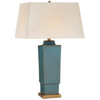 Visual Comfort CHA8590OSB-NP E. F. Chapman Khan 31 inch 150 watt Oslo Blue Table Lamp Portable Light