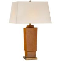 Visual Comfort CHA8590SHB-NP E. F. Chapman Khan 31 inch 150 watt Shanghai Brown Table Lamp Portable Light