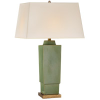 Visual Comfort CHA8590SHK-NP E. F. Chapman Khan 31 inch 150 watt Shellish Kiwi Table Lamp Portable Light