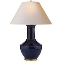 Visual Comfort CHA8661DM-NP E. F. Chapman Lambay 36 inch 100 watt Denim Porcelain Table Lamp Portable Light
