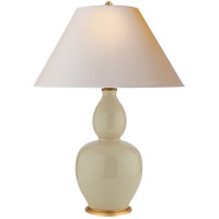 Visual Comfort CHA8663ICO-NP E. F. Chapman Yue 31 inch 100 watt Coconut Porcelain Table Lamp Portable Light