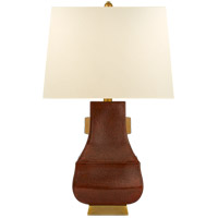 Visual Comfort CHA8694ACO/BG-PL E. F. Chapman Kang Jug 29 inch 100 watt Autumn Copper with Burnt Gold Table Lamp Portable Light, Large