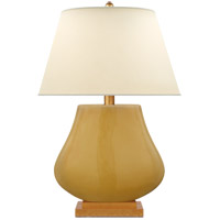 E. F. Chapman Taiping 30 inch 100 watt Light Honey Table Lamp Portable Light