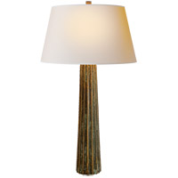 Visual Comfort CHA8906BZV-NP E. F. Chapman Fluted Spire 32 inch 100 watt Bronze with Verdigris Highlights Decorative Table Lamp Portable Light