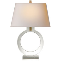 E. F. Chapman Ring 20 inch 75 watt Crystal Decorative Table Lamp Portable Light