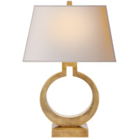 Visual Comfort CHA8970AB-NP E. F. Chapman Ring 27 inch 100 watt Antique-Burnished Brass Decorative Table Lamp Portable Light