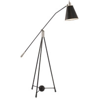 E. F. Chapman Magneto 50 inch 75 watt Polished Nickel Floor Lamp Portable Light